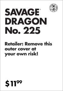 [Savage Dragon #225 (25th Anniversary XXX Krash Variant) (Product Image)]