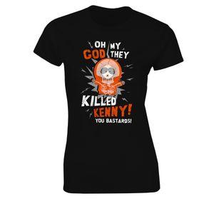 [South Park: Women's Fit T-Shirt: Kenny Dies (Product Image)]