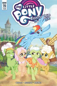 [My Little Pony: Friendship Is Magic #70 (Cover A Kuusisto) (Product Image)]