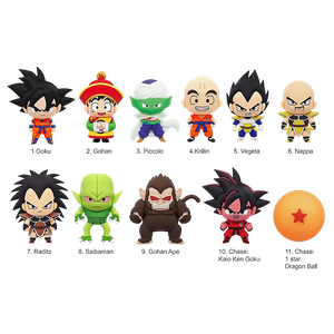 [Dragon Ball Z: Figural Bag Clip: Blind Bag: Series 1 (Product Image)]