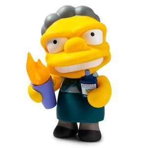 [The Simpsons: Kidrobot Medium Figure: Flaming Moe (Product Image)]