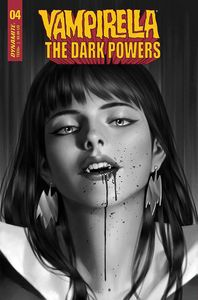 [Vampirella: Dark Powers #4 (Yoon Black & White Variant) (Product Image)]