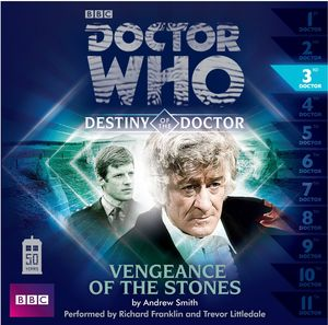 [Doctor Who: Destiny Of The Doctor 3: Vengeance Of The Stones CD (Product Image)]