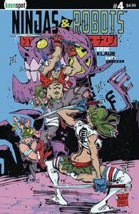 [Ninjas & Robots #4 (Cover A Erik Klaus) (Product Image)]