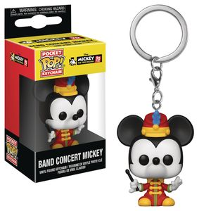 [Disney: Mickey Mouse: Pocket Pop! Vinyl Keychain: Band Concert Mickey (Product Image)]