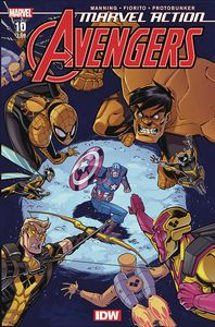 [Marvel Action: Avengers #10 (2nd Printing) (Product Image)]