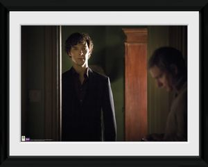 [Sherlock: Framed Print: Shadows (Product Image)]
