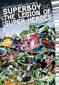 [Superboy & The Legion Of Superheroes: Volume 1 (Hardcover) (Product Image)]
