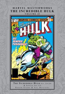 [Marvel Masterworks: Incredible Hulk: Volume 15 (Hardcover) (Product Image)]
