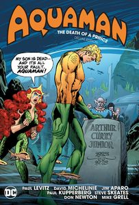 [Aquaman: Death Of A Prince (Deluxe Edition Hardcover) (Product Image)]
