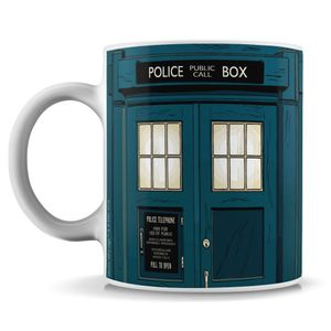 [Doctor Who: Mug: The TARDIS Mug (2020) (Forbidden Planet Exclusive) (Product Image)]