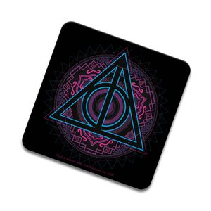 [Harry Potter: Coaster: Neon Deathly Hallows (Product Image)]