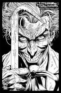 [Batman: Three Jokers #1 (Jason Fabok Black & White Variant) (Product Image)]