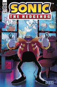 [Sonic The Hedgehog #39 (Cover B Gigi Dutreix) (Product Image)]