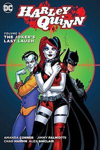 [Harley Quinn: Volume 5: The Joker's Last Laugh (Hardcover) (Product Image)]