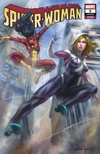[Spider-Woman #5 (Lucio Parrillo Variant) (Product Image)]