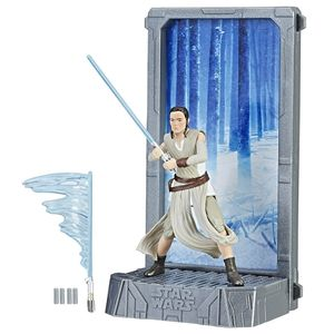 [Star Wars: The Force Awakens: Titanium Black Series Figure: Rey Starkiller Base (Product Image)]