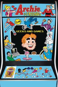 [The cover for Archie & Friends: Geeks & Games #1]