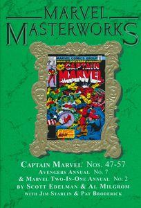 [Marvel Masterworks: Captain Marvel: Volume 5 (Hardcover - DM Edition) (Product Image)]