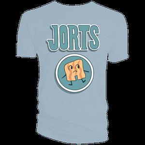 [Hilda: T-Shirt: Jorts Logo (Blue) (Product Image)]