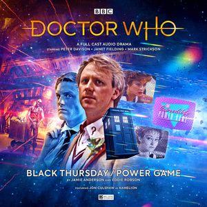 [Doctor Who: Main Range #248 Black Thursday / Power Game (Product Image)]
