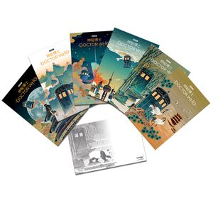 [Doctor Who: Postcard Set: China (Product Image)]