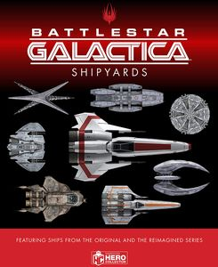 [The Ships Of Battlestar Galactica (Hardcover) (Product Image)]