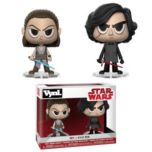 [Star Wars: The Force Awakens: VYNL Figures: Rey & Kylo (2 Pack) (Product Image)]