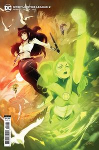[RWBY/Justice League #2 (Cover B Simone Di Meo Card Stock Variant) (Product Image)]