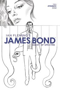 [James Bond: Agent Of Spectre #2 (Phillips Black & White Variant) (Product Image)]