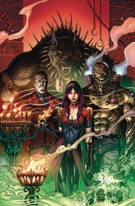 [Van Helsing Vs Draculas Daughter #5 (Cover E Metcalf) (Product Image)]