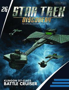 [Star Trek: Discovery Figure Magazine #26: Klingon D7 (Product Image)]