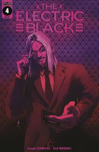 [Electric Black #4 (Cover B Neon Variant) (Product Image)]