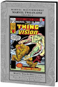 [Marvel Masterworks: Marvel Two In One: Volume 4 (Hardcover) (Product Image)]