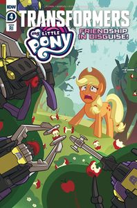 [My Little Pony/Transformers #4 (Pitre-Durocher Variant) (Product Image)]