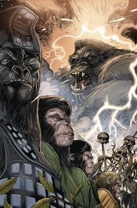 [Kong On Planet Of Apes #4 (Connecting Magno Variant) (Product Image)]