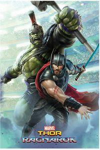 [Thor Ragnarok: Poster: Thor & Hulk (Product Image)]