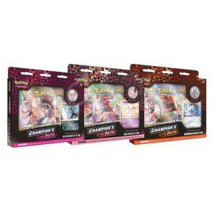 [Pokemon: Trading Card Game: Champion's Path: Ballonea, Spikemuth & Hammerlocke Gyms Pin Collection (Product Image)]
