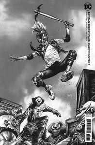 [Batman: Secret Files: Clownhunter #1 (One Shot Mico Suayan Cardstock Variant) (Product Image)]