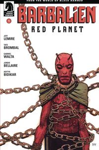 [The cover for Barbalien: Red Planet #1 (Cover A Walta)]