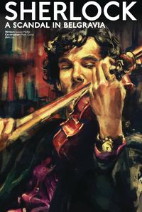 [The cover for Sherlock: Scandal In Belgravia #5 (Cover A Zhang)]