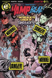 [Vampblade: Season Two #11 (Cover B Winston Young Risque) (Product Image)]