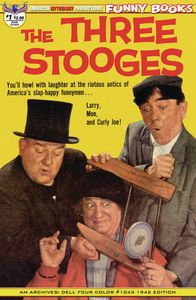 [The Three Stooges: Four Color 1942 #1 (Main Cover) (Product Image)]