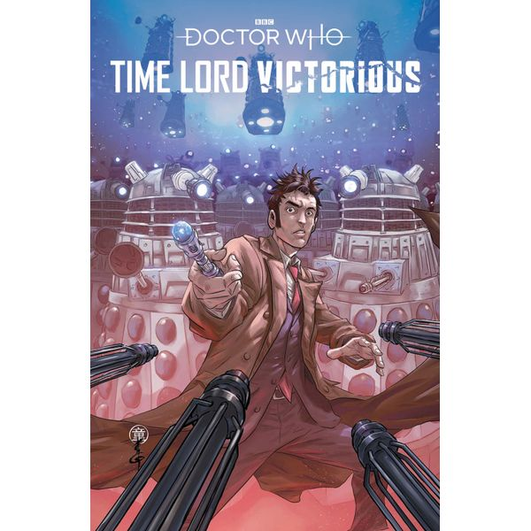 [The cover for Doctor Who: Time Lord Victorious #1 (Cover C Quah)]