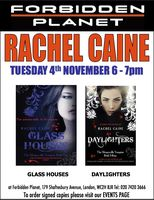 [Rachel Caine Signing Glass Houses and Daylighters (Product Image)]