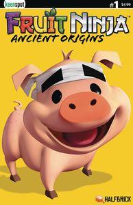 [Fruit Ninja Ancient Origins #1 (Cover C Truffles The Pig Halfbr) (Product Image)]