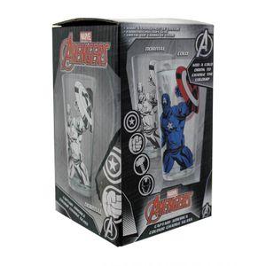 [Marvel: Colour Change Glass: Captain America (Product Image)]