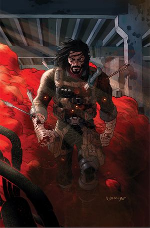 [The cover for BRZRKR (Berzerker) #1 (Cover A Grampa)]