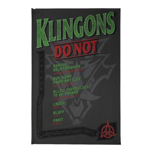 [Star Trek: The Next Generation: Tea Towel: Klingons Do Not (Destination Star Trek 2019 Exclusive) (Product Image)]
