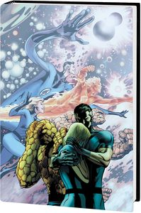 [Fantastic Four By Jonathan Hickman: Omnibus: Volume 1 (DM Variant New Printing Hardcover) (Product Image)]